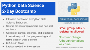 Python Data science (1)